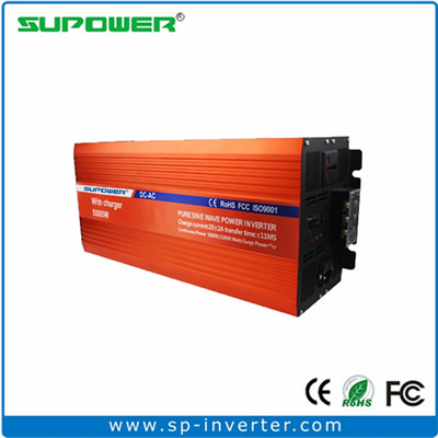 5000W UPS Pure Sine Wave Power Inverter with battery charger