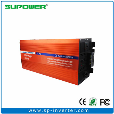 3000W UPS Pure Sine Wave Power Inverter with battery charger