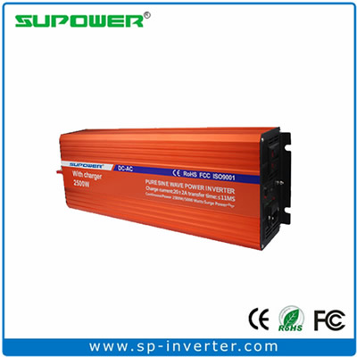2500W UPS Pure Sine Wave Power Inverter with battery charger
