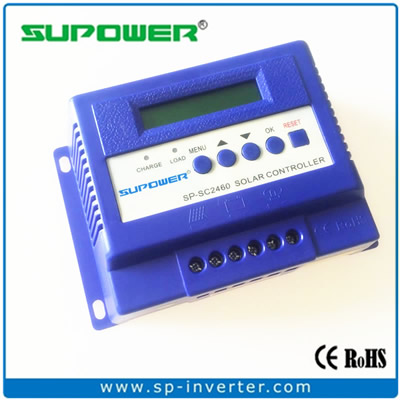SP-SC2460 series 3 stages Solar Charge Controller with LCD Display